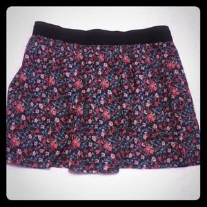 Old Navy Floral Mini Skirt
